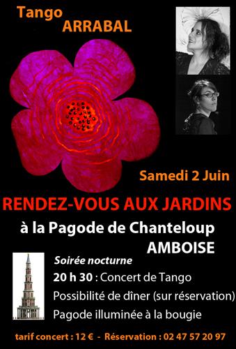 Rendez vous aux jardins concert de tango for Rendez vous des jardins